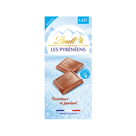 Lindt Les Pyreneens - Milk Chocolate - 150g Bar