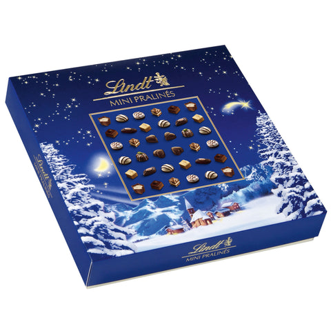 Lindt Mini Pralinés Christmas Gift Box (180g) Best Before End March 20