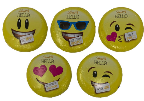 Mixed Lindt Emoji Giant Milk Chocolate Buttons (Best Before End Nov 20)