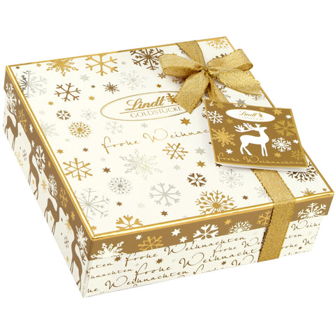 Lindt Gold Pieces Christmas Gift Box (250g)