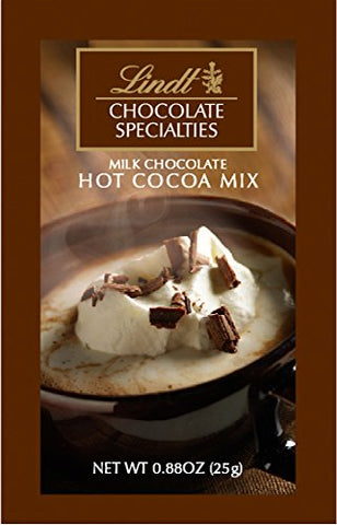 Lindt Milk Chocolate Hot Cocoa Sachet (Best Before 20th Jan 19)