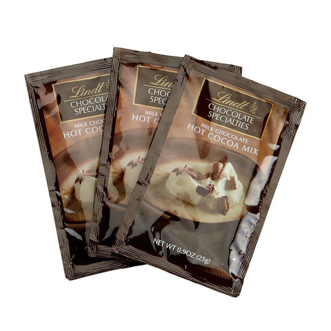 Lindt Milk Chocolate Hot Cocoa Sachets (Best Before 12th May 19)