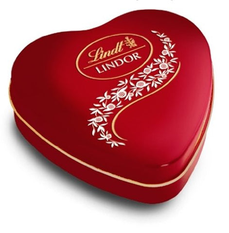 Lindt Lindor Milk Chocolate Valentines Day Heart Tin (50g)