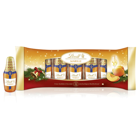 Lindt Apricot Brandy Dark Chocolate Bottles (132g)