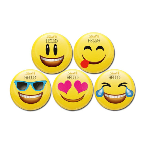 Lindt Emoji Mini Milk Chocolate Buttons (5 versions)