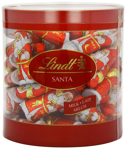Lindt Mini Milk Chocolate Christmas Santas (67 pieces)
