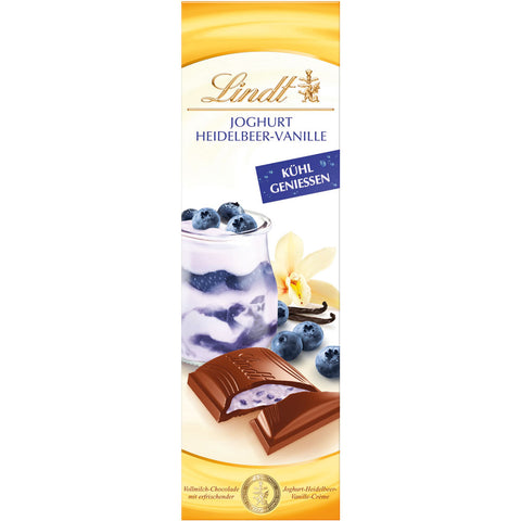 Lindt Yoghurt Blueberry & Vanilla 100g Bar