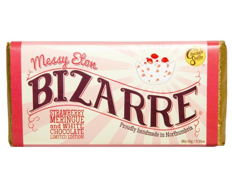 Messy Eton White Chocolate Bizarre Bar - 100g