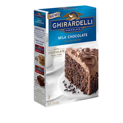 Milk Chocolate Ghirardelli Cake Mix (Best Before 16th June 18)