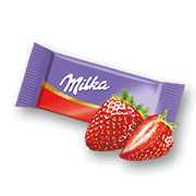 Milka Mini Strawberry Milk Chocolate
