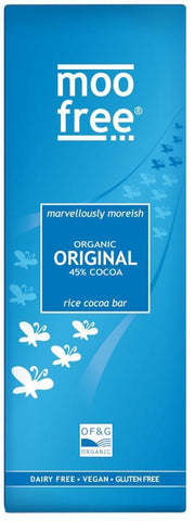 Moo Free 45% Milk Chocolate Bar (80g) ORGANIC, DAIRY FREE & VEGAN