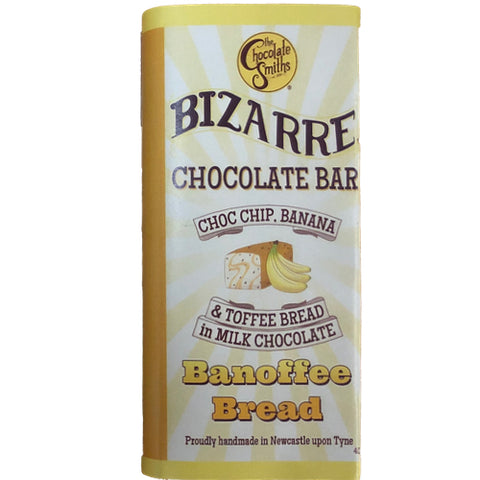 Mini Banoffee Bread Milk Chocolate Bizarre Bar - 40g
