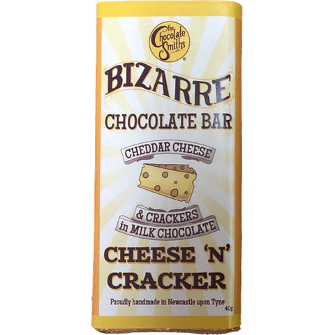 Mini Cheese & Cracker Milk Chocolate Bizarre Bar - 40g (Best Before End Sept 19)