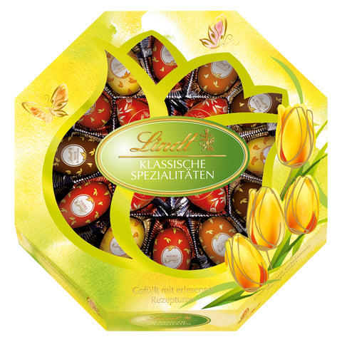 Lindt Easter Eggs Gift Box - 5 varieties (16 eggs 288g)
