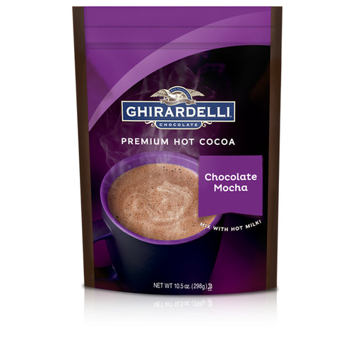 Ghirardelli Chocolate Mocha Premium Hot Chocolate (10.5oz)