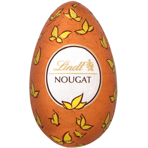Hazelnut Nougat Milk Chocolate Lindt Eggs