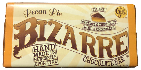 Pecan Pie Christmas Milk Chocolate Bizarre Bar - 100g