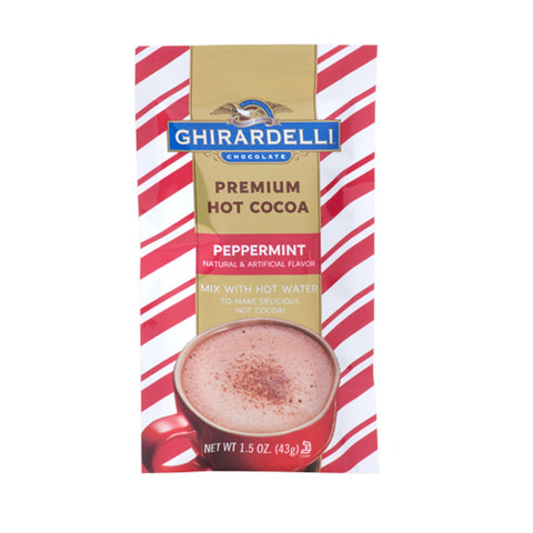 Ghirardelli Premium Peppermint Hot Cocoa (1.5oz)