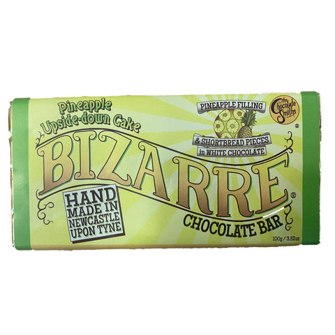 Pineapple Upside Down Cake White Chocolate Bizarre Bar - 100g