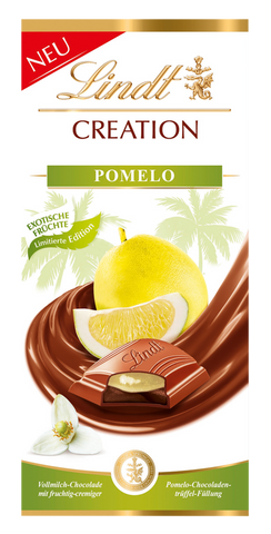 Lindt Creation - Pomelo - 150g Bar (Best Before End Dec 18)