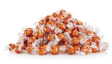 Lindt Lindor Pumpkin Spice with the taste of Halloween and Christmas!