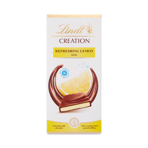 Lindt Creation - Refreshing Lemon - 150g Bar