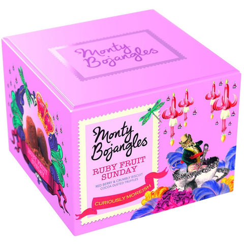 Monty Bojangles Ruby Fruit Sunday Chocolate Truffles (150g Box)