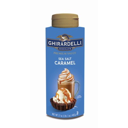 Ghirardelli Salted Caramel Sauce 482g Squeeze Bottle