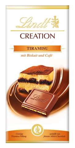 Lindt Creation - Tiramisu - 150g Bar