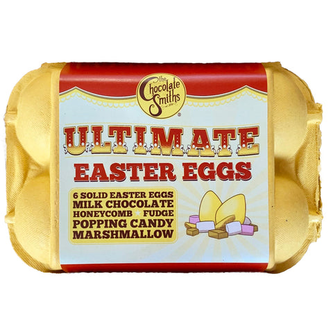 Chocolate Smiths Ultimate Easter Eggs in Egg Box (6)