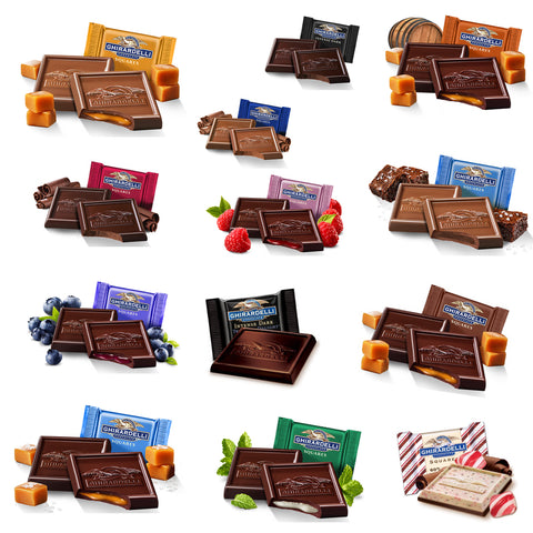 Supreme Ghirardelli Squares Collection (15 varieties)