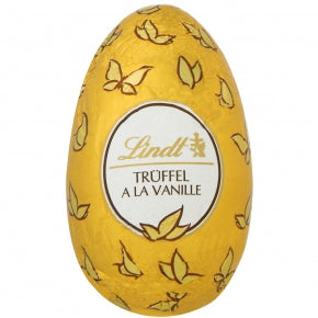 Vanilla Creme Milk Chocolate Lindt Egg