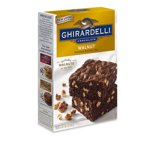 Walnut Ghirardelli Brownie Mix