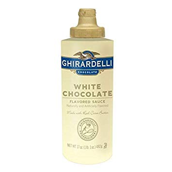 Ghirardelli White Chocolate Sauce 454g Squeeze Bottle