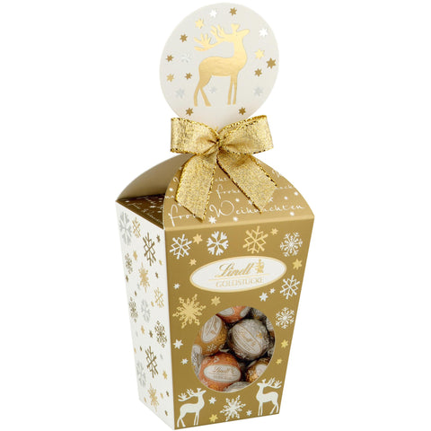 Lindt Christmas Mini Truffle Balls Selection Gift Box (150g)