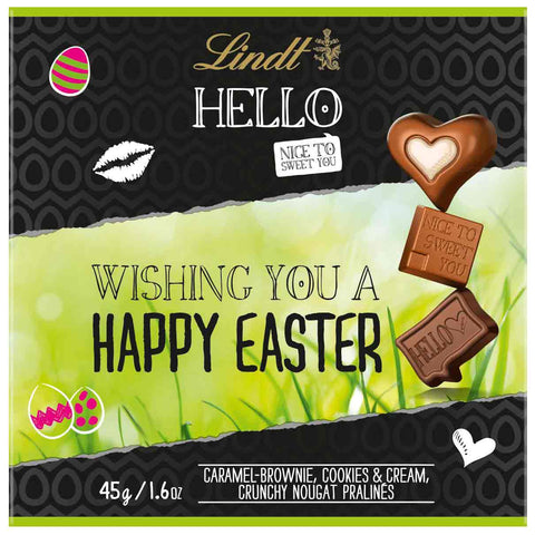 Lindt Hello Happy Easter Gift Box (45g)