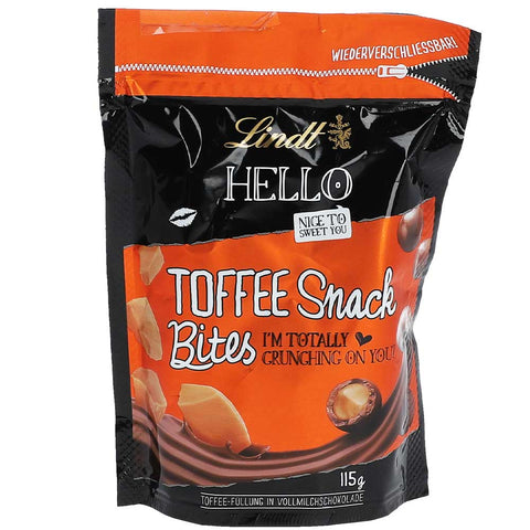 Lindt Hello Toffee Snack Bites (115g)