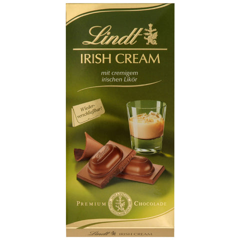Lindt Irish Cream 100g bar