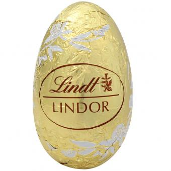Lindt Lindor White Chocolate Easter Egg