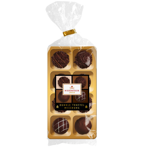 Niederegger Mixed Dark Chocolate Truffles (100g) Best Before 15th June 19