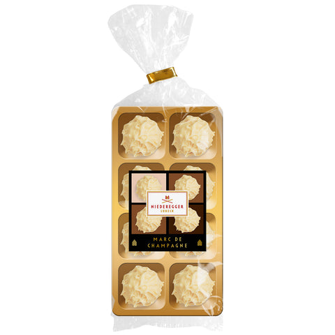 Niederegger White Chocolate Marc de Champagne Truffles (100g) Best Before 18th July 19