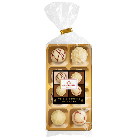 Niederegger Mixed White Chocolate Truffles (100g) Best Before 4th August 19