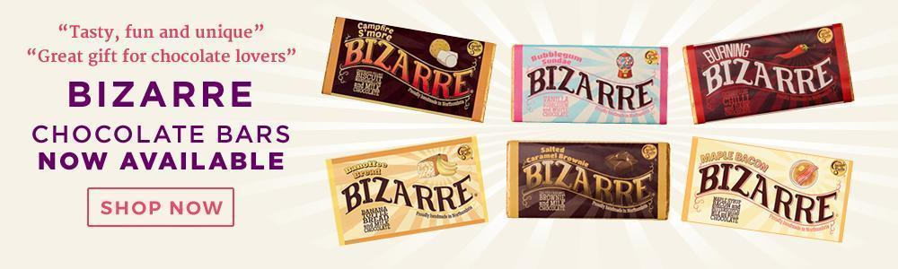 Bizarre bars - delicious chocolate bars from The Chocolate Emporium