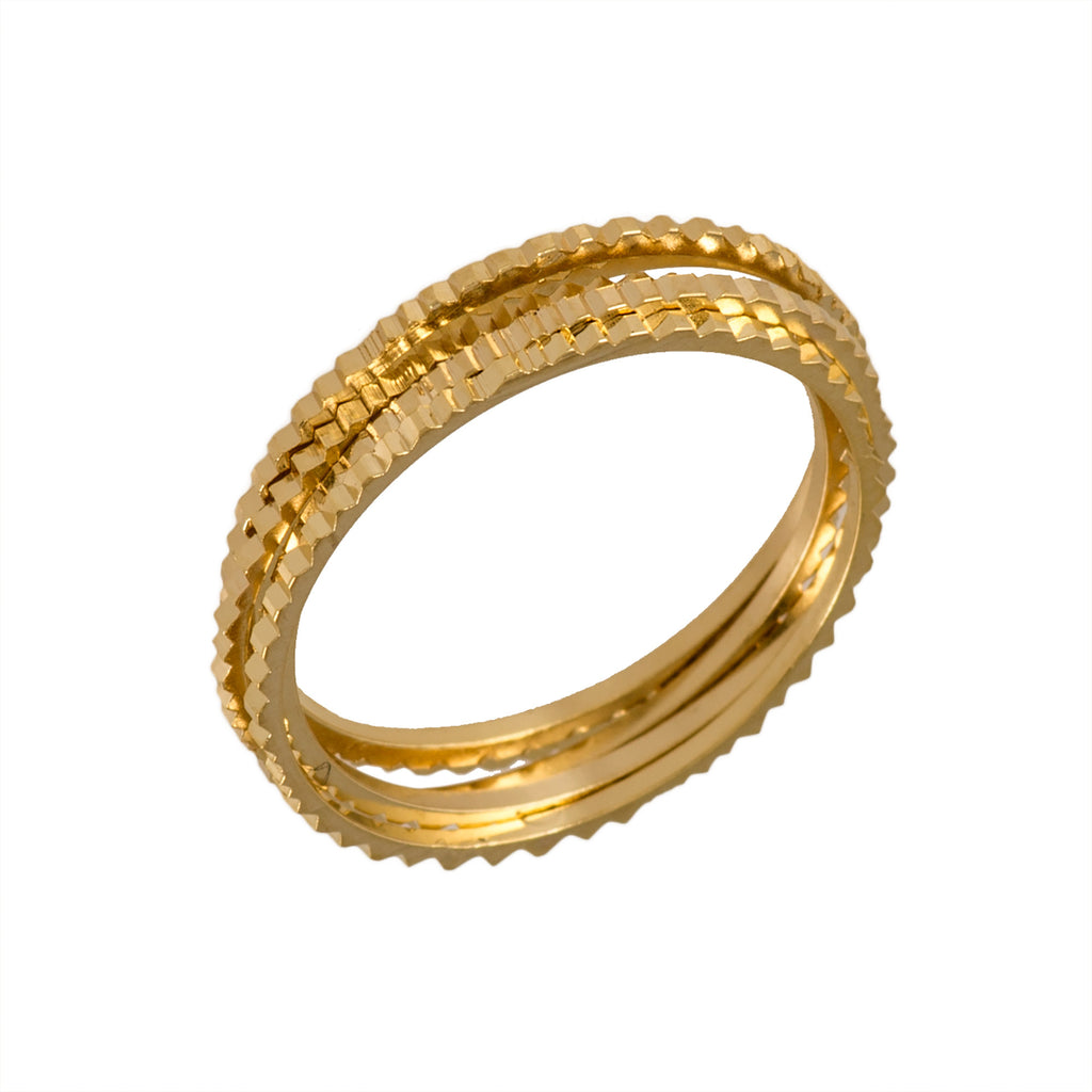 Sef of Gold rings