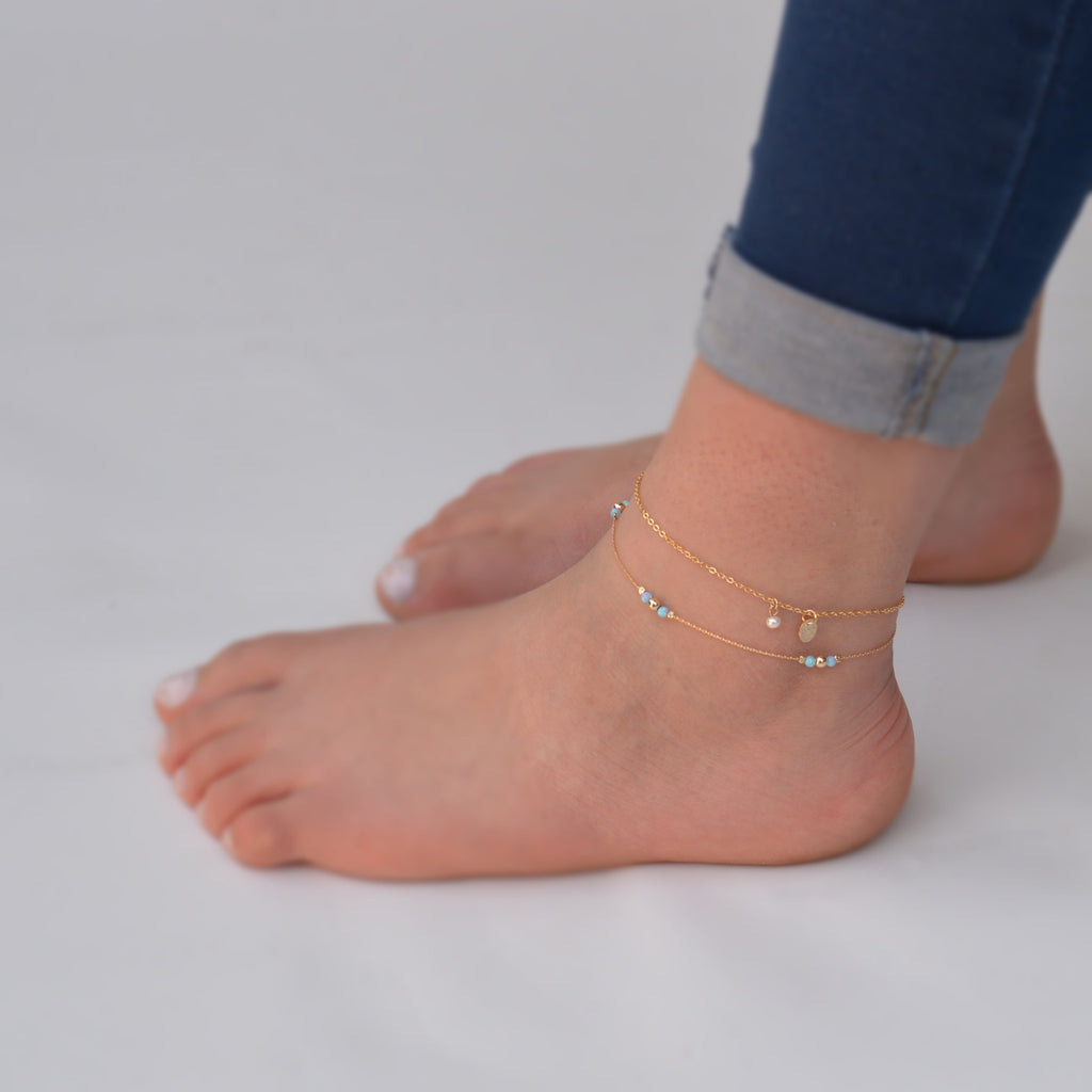 anklet wrap gold il wrapped products hamsa bracelet ankle fullxfull