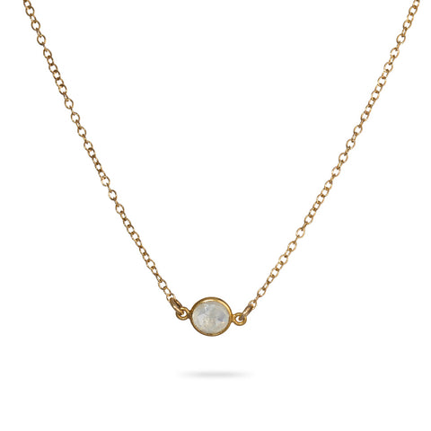 Dainty Moonstone Necklace