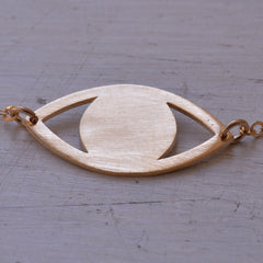 Gold evil eye bracelet everyday bracelet protection Bracelet evil eye jewelry