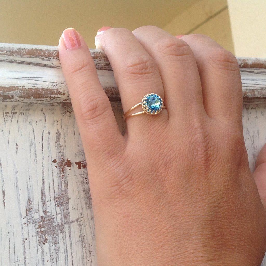 aquamarine birthstone westdale rings march ring jewellers