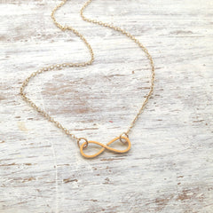 Beautiful simple Infinity necklace