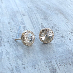 stud earrings wedding